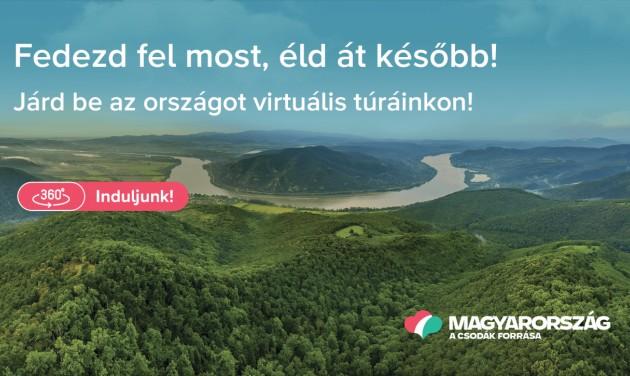Virtuális országjárásra hív a Magyar Turisztikai Ügynökség