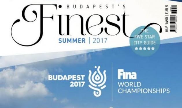 Megrendelhető a Budapest's Finest nyári száma