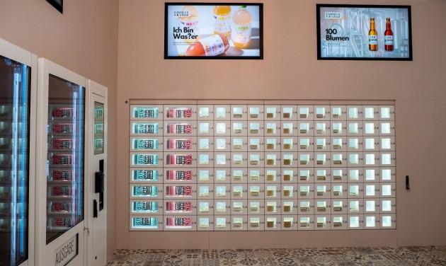 Étteremautomata nyílt Bécsben, ahol a nap bármely szakában lehet enni