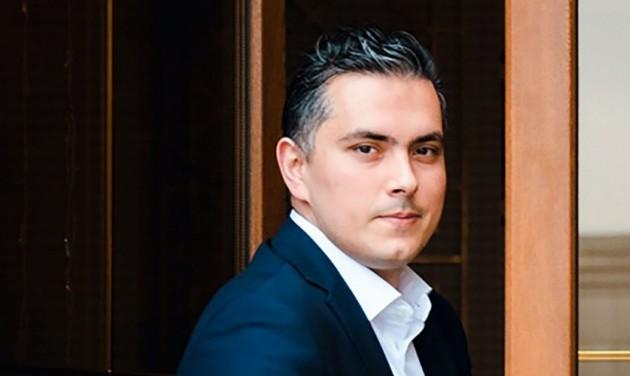 Selim Ölmez a Matild Palace marketingigazgatója