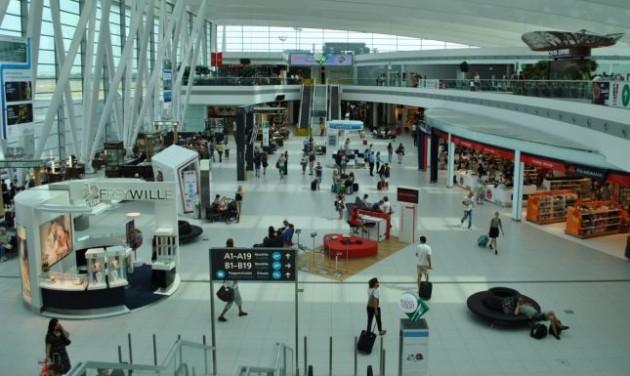 Rekord közelében az utasforgalom a repülőtéren