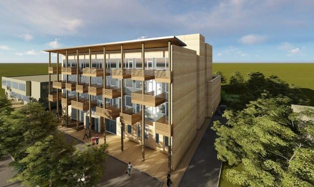 Elkezdődött a Pangea Ökocentrum és Szálloda építése