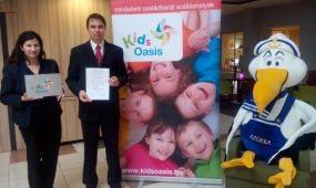 A Hotel Azúr a Balaton első KidsOasis minősített családbarát szálláshelye