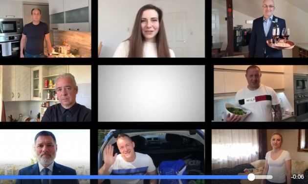 Otthoni videóban üzennek a Danubius Hotels munkatársai