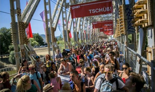 Sűrűbben közlekedik a szentendrei HÉV a Sziget fesztivál idején