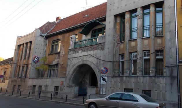 Májusra elkészül a nagyváradi szecessziós múzeum épülete
