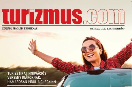 Megjelent a Turizmus.com szeptemberi száma