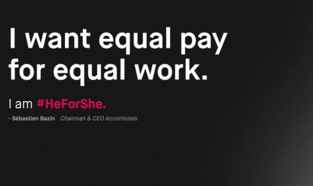 Az AccorHotels is szerepet vállal a #HeForShe kampányban