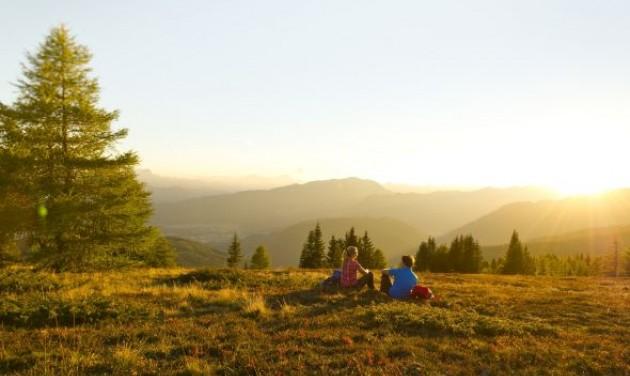 Feltöltődés a természetben Ausztriában