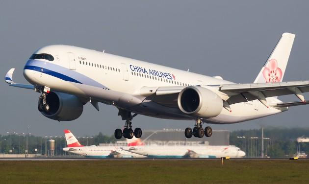 Európából erősít a tajvani China Airlines