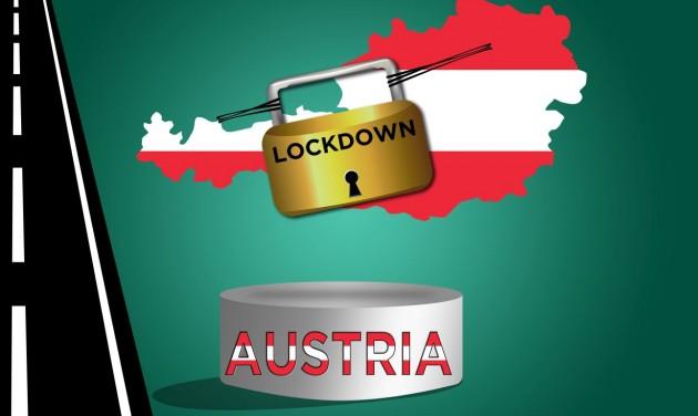 Lockdown hard: Ausztria berántotta a vészféket