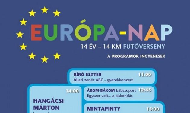 Fesztivál az Európa-napon