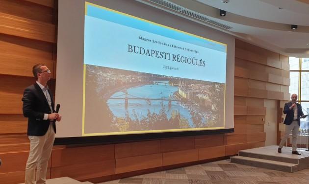 A fővárosi szállodák újraindulásának esélyeiről az MSZÉSZ régióülésén