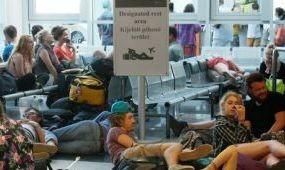 Sziget-hangulat a reptéren