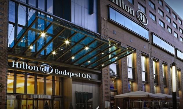 Crowne Plaza lesz a Hilton Budapest City Hotelből