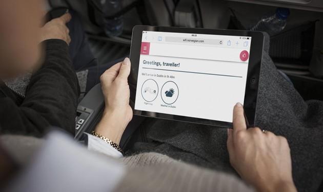 Ingyenes wifi a fedélzetre lépés pillanatától