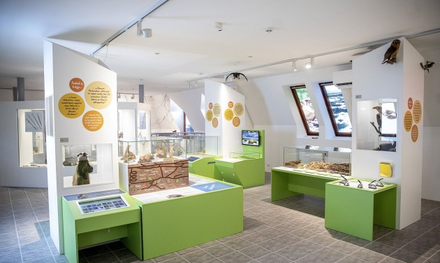 Interaktív állandó kiállítást is kapott a szarvasi állatpark