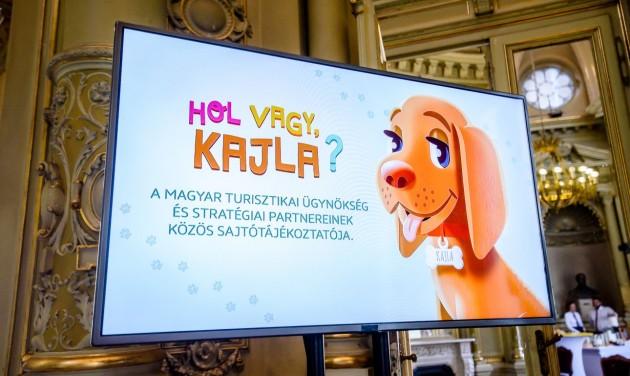 Kajla kutyával fedezhetik fel Magyarországot az iskolások