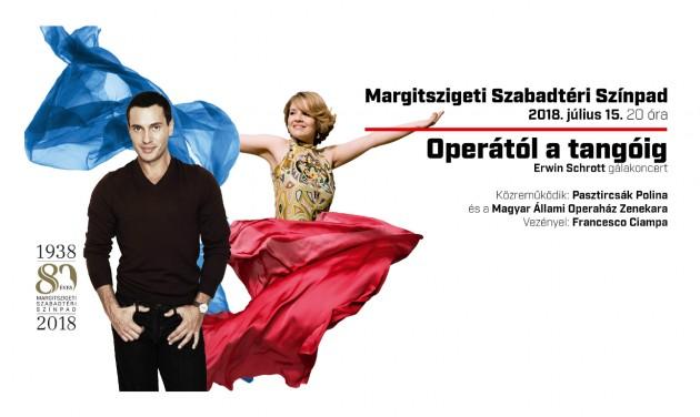 Operától a tangóig – Erwin Schrott gálakoncert július 15-én a Margitszigeti Szabadtéri Színpadon!