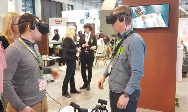 Prezentáció helyett taroltak a virtuális élmények az ITB-n