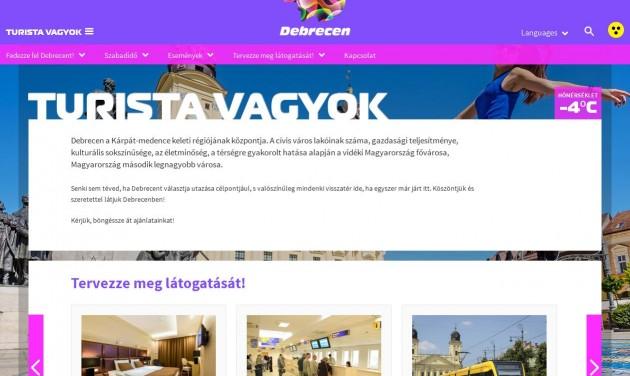 A turistákat is megszólítja Debrecen megújult honlapja