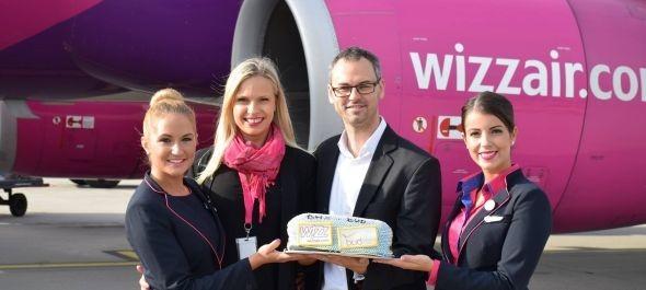 Elindult a Wizz Air Budapest–Birmingham járata