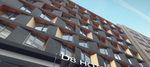 2018 első negyedévében nyit a D8 Hotel Budapest