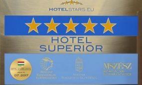Újabb HOTELSTARS minősítések