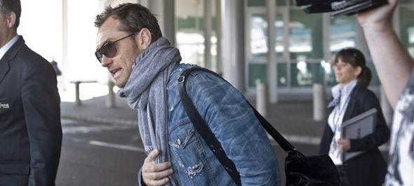 Jude Law Budapesten