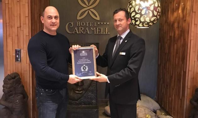 Átadták a legjobb szállodájának járó közönségdíjat az Észak-Dunántúlon
