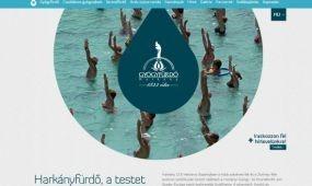 Megújult a harkányi fürdő honlapja