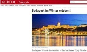 Budapestet népszerűsítik a bécsi villamosok
