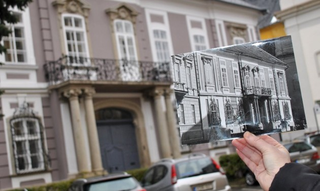 Megújult a hajdani nagypréposti palota Egerben