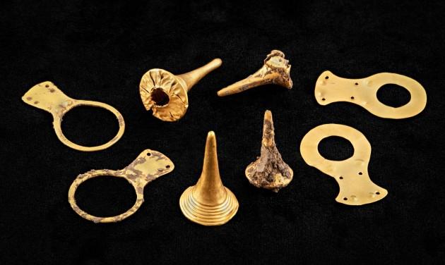 Hatezer éves aranyleletek kerültek elő Borsodban