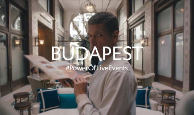 Budapest készen áll! – itt a #PowerOfLiveEvents kampányfilmje