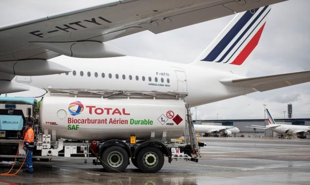 Először repült hosszútávú járaton fenntartható forrásból származó kerozinnal Air France-gép