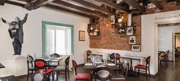Óriási sikere van a Pavarottiról elnevezett étteremnek