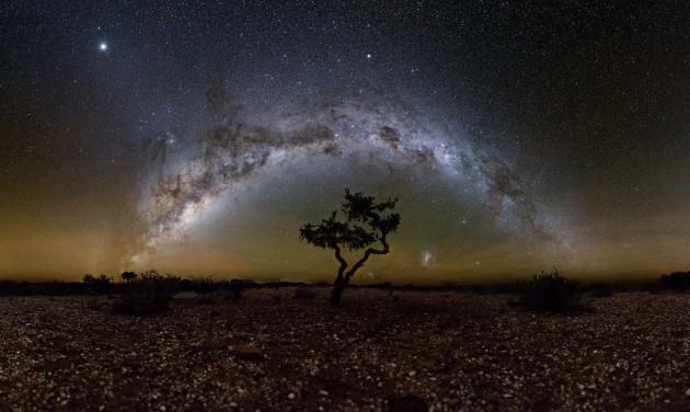 Magyar asztrofotós expedíció Namíbiában