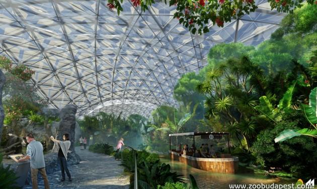 2021-ben nyílhat meg Budapest trópusi élményparkja