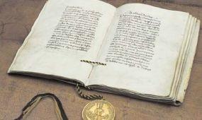 Egy hétig látható lesz IV. Károly Aranybullája Prágában