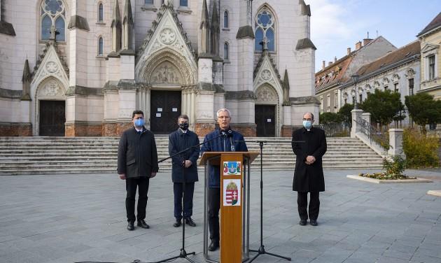 Hatmilliárdból újulnak meg kőszegi egyházi épületek