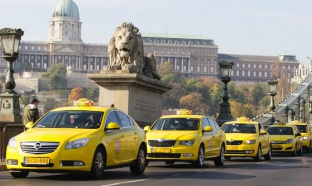 A budapesti taxizók negyede használ taxirendelő appot