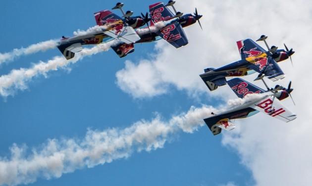 Red Bull Air Race Zamárdi: programok égen, földön és vízen