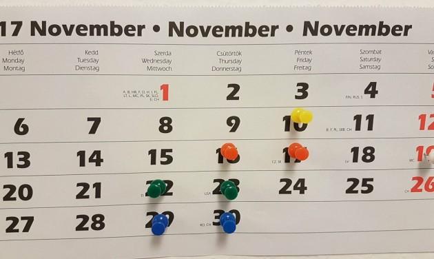 November végéig mindenki foglalt