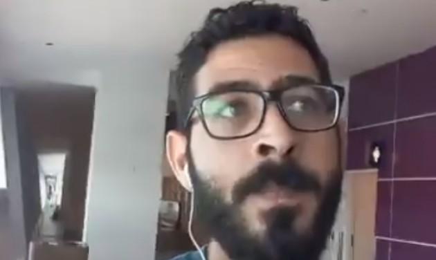 Hetek óta él reptéri tranzitzónában egy szír férfi