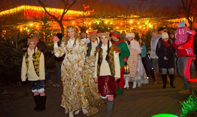 Karácsonyi varázslat a Familyparkban