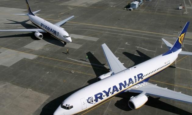 Jövő héten leáll a Ryanair