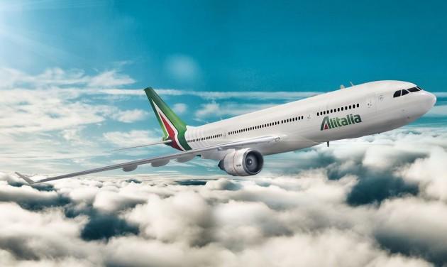 Alitalia: a világ legpontosabb légitársasága januárban