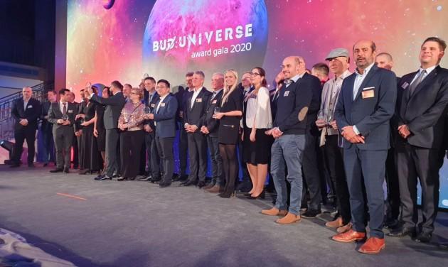Díjátadó gálán ismerte el partnereit a Budapest Airport