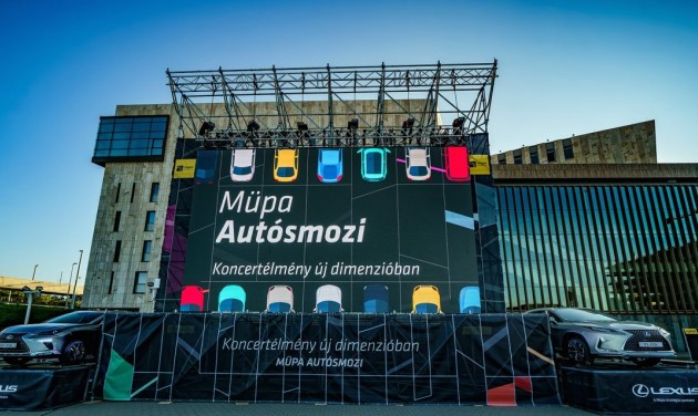 Itt az új Müpa-élmény – élő koncertek az autóból
